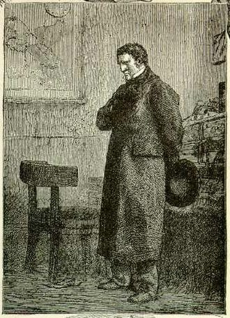 Les Misérables - Jean Valjean as Monsieur Madeleine. Illustration by Gustave Brion