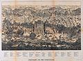 Jerusalem aus der Vogelschau - Entworfen und gezeichnet von Adolf Eltzner. Druck von F.A. Brockhaus in Leipzig.jpg