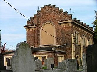 New Jewish Cemetery, Kraków - Mortuary built in 1903