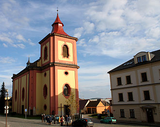 Jilemnice - Image: Jilemnice kostel sv vavrince