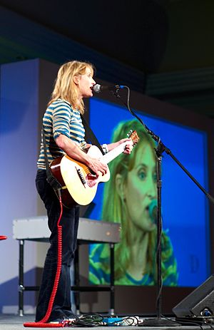 Jill Sobule - Jill Sobule, in 2007, performing at D5 in Carlsbad Caverns