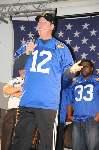 Jim Kelly - Jim Kelly at Joint Base Balad, Iraq, 2010.