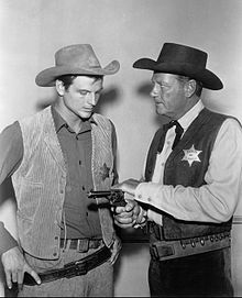 Jody and Joel McCrea Wichita Town 1959.jpg