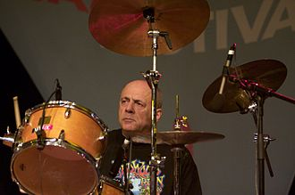 John Mayall & the Bluesbreakers - Joe Yuele, drummer with the band, 2008