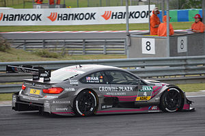 Joey Hand - Image: Joey Hand Hungaroring DTM2014