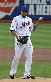 Johan Santana Venezuelan baseball player