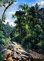 Johann Georg Grimm 1885, Cascatinha de Teresópolis.jpg