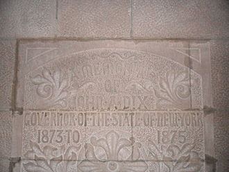 John Adams Dix - The John Adams Dix memorial at the Cathedral of All Saints (Albany, New York).