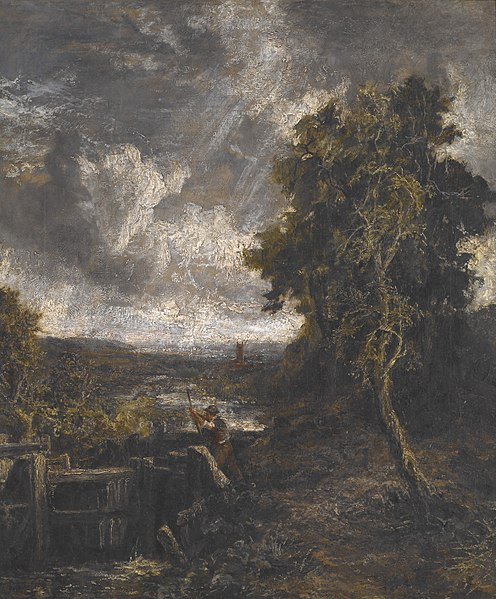 File:John Constable - East Bergholt - Lock on Stour - 53.20 - Indianapolis Museum of Art.jpg