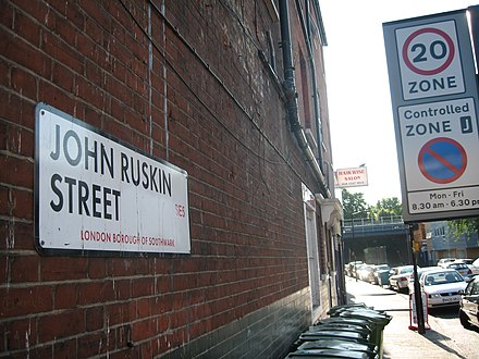 John Ruskin Street in Walworth, London John Ruskin Street in London.JPG
