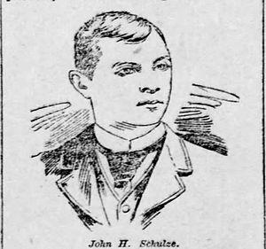 John Schulze (baseball) - Image: John Schulze 1891