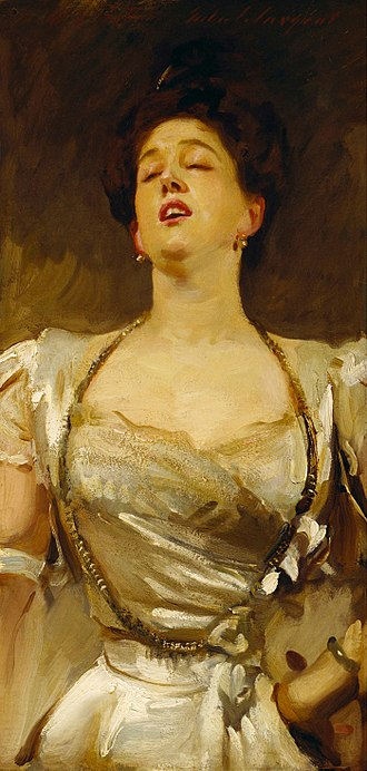 Radclyffe Hall - Mabel Batten sang to John Singer Sargent as he painted her portrait, around 1897