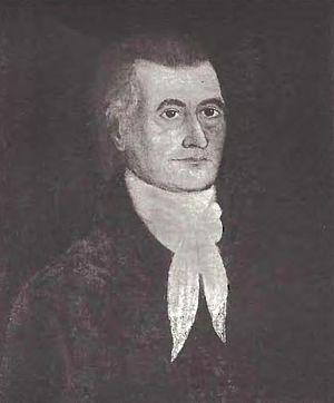 "Jonathan Hunt (Vermont lieutenant governor) - Hunt as depicted in Volume V (1891) of the ""Vermont Historical Gazetteer""."