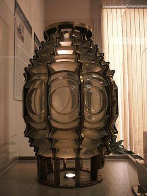 Jones Point Light - Image: Jones Point lens