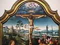 Joos van cleve, trittico della crocifissione tra i committenti inginocchiati, 1500-1550 ca. 03.JPG