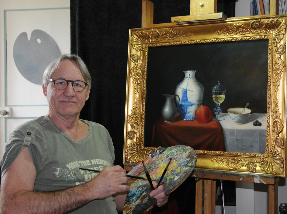 Jos van de ven wikip dia for Biographie artiste peintre