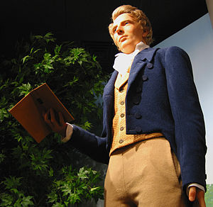 Joseph smith figure north visitors center slc utah