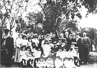 Juan Zorrilla de San Martín -  The patriarch Juan Zorrilla de San Martin and his family