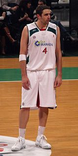 Argentine professional basketball player