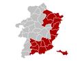 Judicial Arrondissement Tongeren Belgium Map.PNG