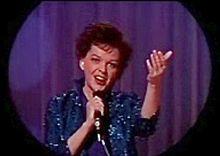 Judy Garland in Ombre sul palcoscenico (1963), il suo ultimo film
