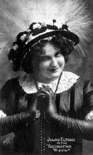 Julian Eltinge - Another picture from The Fascinating Widow