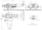 Junkers G.31 3-view L'Aérophile November,1927.png