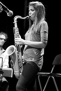 Melissa Aldana Chilean tenor saxophone player