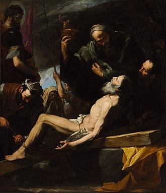 Jusepe de Ribera - Martyrdom of Saint Andrew