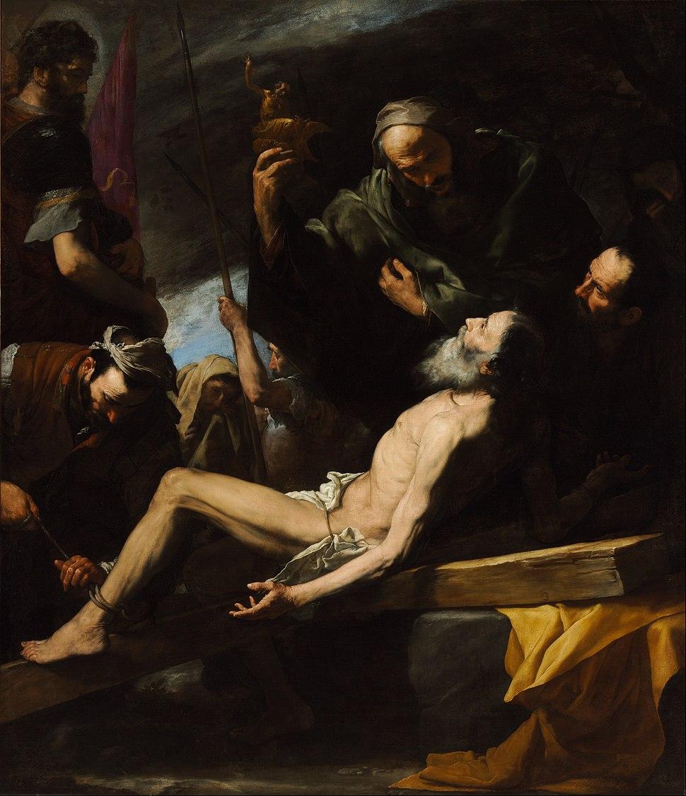 Jusepe de Ribera - Martyrdom of Saint Andrew - Google Art Project