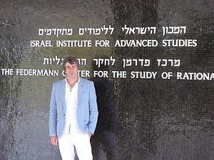 Jean-Yves Béziau -  Jean-Yves Béziau in Jerusalem, January 2016