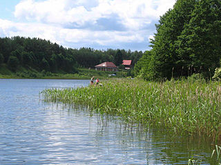Nowa Kaletka Village in Warmian-Masurian Voivodeship, Poland