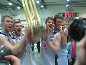 Knattspyrnufélag Reykjavíkur - KR won the Icelandic basketball league the 2007 season, their 10th overall title.