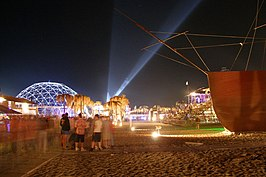 KaZantip at night, 2006.jpg