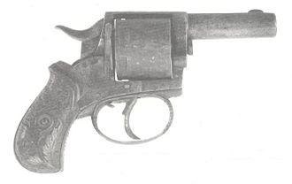 Kanailal Dutta - The revolver used by Kanailal Dutta to shoot Narendranth Goswami