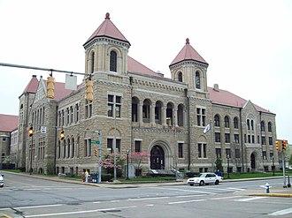 Kanawha County Courthouse - Kanawha County Courthouse, April 2009
