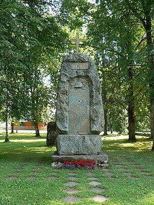 Kanepi - Image: Kanepi vabadussõjamonument