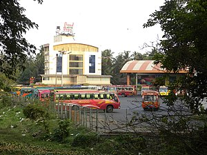 Thavakkara - Thavakkara Bus Station, Kannur