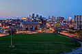Kansas City skyline as night descends.jpg