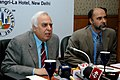 "Kapil Sibal interacting with the media after the award ceremony of ""Future Cities India-2020 Competition"" sponsored by Deptt. of Science & Technology and Bentley Systems, in New Delhi on January 19, 2008.jpg"