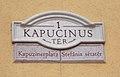 Kapucinus tér (Kapuzinerplatz, Stefánia sétatér), 2017 Mór.jpg