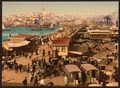 Kara-Keui (Galata) and view of Pera, Constantinople, Turkey-LCCN2001699427.tif
