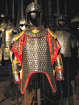 Polish Army Museum - Karacena armour, 17th century