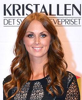 Karin Frick Swedish sports journalist and television presenter