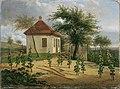Karl Gottfried Traugott Faber - Pavillon auf Dr. Körners Weinberg bei Loschwitz - 1846 - Österreichische Galerie Belvedere.jpg