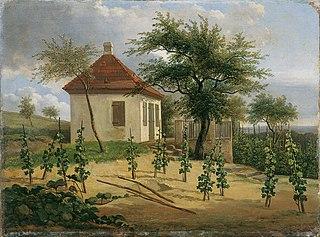 Pavillon auf Dr. Körners Weinberg bei Loschwitz