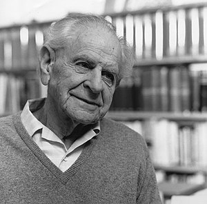 Karl Popper - Sir Karl Popper in 1990