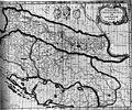 Karta Slavonije, Hrvatske, Bosne i dijela Dalmacije, 17. st.jpg