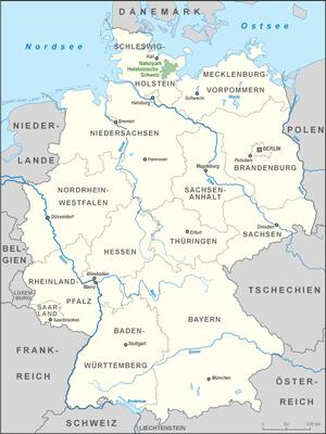 Holstein Switzerland Nature Park - Image: Karte Naturpark Holsteinische Schweiz