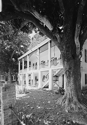 Kate Chopin House (Cloutierville, Louisiana) - Historic American Buildings Survey photo of the house